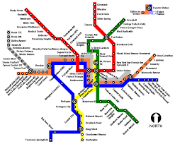 baltimore light rail map my experience with the london underground and applying it to
