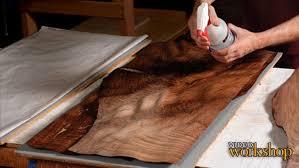 how to wood veneer furniture series veneering basics finewoodworking