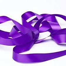 purple satin ribbon cadbury purple satin ribbon 16mm 10m length co uk kitchen
