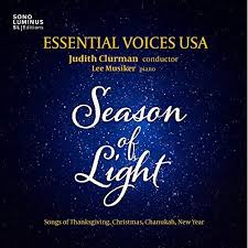 season of light songs of thanksgiving