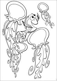 18 coloring pages finding nemo images