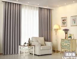 Light Grey Sheer Curtains 4 In 1 Curtain Set Premium Thickness Block Out Curtain