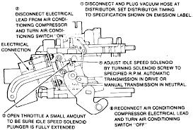 repair guides idle speed and mixture adjustments carbureted