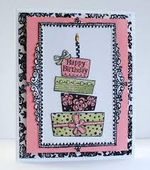happy handmade a fancy birthday card