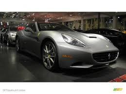 Ferrari California Grey - 2011 grigio titanio matte matte grey metallic ferrari california