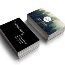 Minimal Design Business Cards Premade Photography Business Card Modern Minimal Calling Card