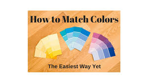 color muse for diy paint match how to match color color muse youtube