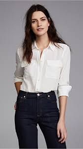 equipment signature blouse equipment slim signature blouse shopbop