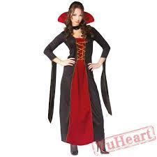 halloween costume black vampire devil costume witch death demon