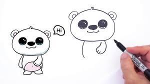 cute polar bear drawing baby polar bear drawing google