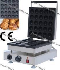 mercial Use Non stick 110v 220v Electric 5cm Doughnut Balls