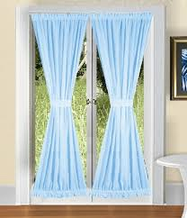 Baby Blue Curtains Light Baby Blue Door Curtains
