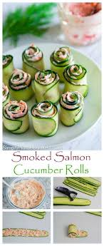 cr e soja cuisine smoked salmon cheese spread rolled up in thinly sliced