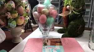 Hobby Lobby Easter Egg Decorations by Spring Home Decor Haul From Big Lots And Hobby Lobby Youtube