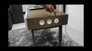 enceinte bureau bureau connecté avec enceinte bluetooth et prises latérales