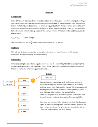 sample lab report sample lab report 2 experiment write up