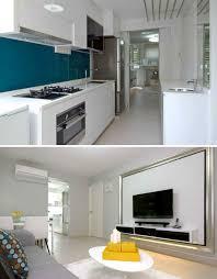 sumptuous design inspiration 3 room flat kitchen singapore hdb