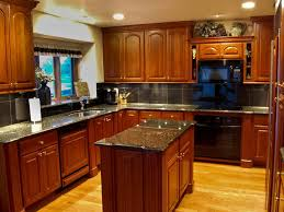 Kitchen Cabinets Stain Kitchen Cherry Kitchen Cabinets With 39 High Quality Cherry