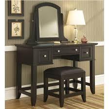 Black Vanity Table Home Styles Bedford Black Vanity Table Mirror U0026 Bench