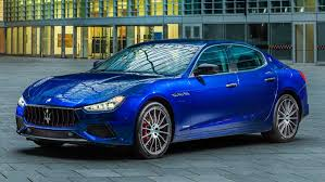 blue maserati ghibli maserati ghibli facelift unveiled refreshed design more power