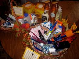 the moonlight gardener wedding guest basket for reception bathrooms