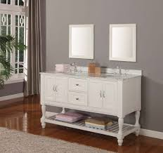 Framed Mirrors For Bathroom by Furniture Modern Fascinating White Bathroom Vanity With Rack And