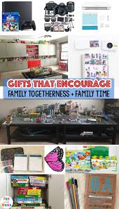 family gift ideas that encourage family time with