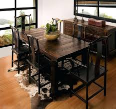 Rustic Dining Room Furniture Sets Rustic Dining Room Table Sets Best Country Reclaimed Solid Wood