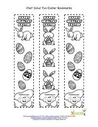 holiday 5 easter bookmark kids coloring easter