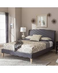 King Upholstered Platform Bed Don U0027t Miss This Deal Sevan Upholstered Platform Bed Upholstery