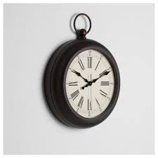 julla wall clock brown 40 cm ikea