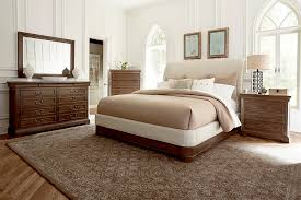 Platform Sleigh Bed Furniture St Germain King Uph Platform Sleigh Bed 215156