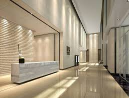 Contemporary Office Interior Design by Modern Office Lobby Design Commercial Interior Design