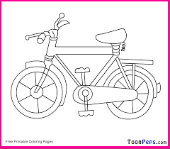 bike coloring pages kids coloring free kids coloring