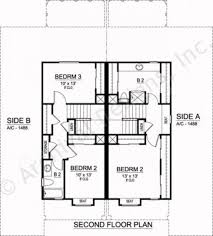 Duplex Plan by Sanborn Duplex Luxury Floor Plans Texas Floor Plans
