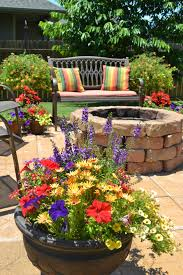 Miracle Grow Patio by Kristen U0027s Creations Patio Flowers Vacations And A Mantle Revamp