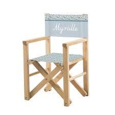 fauteuil realisateur fauteuil réalisateur fleurs des chs bleues ma chaise