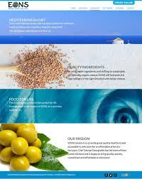 kissane viola design website eons greek nyc