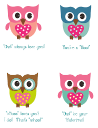 cute owl cards for valentines day girls owl bedroom ideas