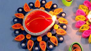 paper quilling craft tutorial 6 diwali special diya decoration