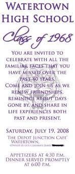 50th high school class reunion 6 best class reunion invitation wording ideas class reunion