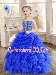 big puffy beaded blue quinceanera dress and sequined short dama