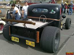 Old Ford V8 Truck - chevrolet twin turbo v8 rod genho