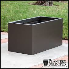 Rectangular Terracotta Planters by Large Outdoor Planters Rectangular Long Planters Shopping Mall
