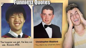 how can i get a yearbook from my high school funniest senior yearbook quotes