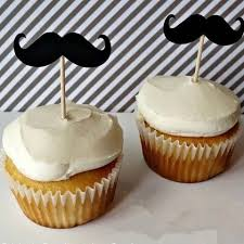 mustache cake topper new 12pcs mustache cake toppers s day party decoration