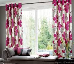 Pink And Purple Curtains Honolulu Eyelet Luxury Lined Pink Curtain Pink Curtains Pink