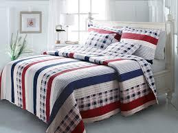Bedroom Sets Yakima Amazon Com Greenland Home Fashions Nautical Stripes Quilt Set
