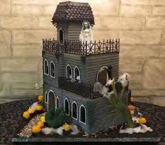 halloween decorated houses how to make haunted gingerbread houses