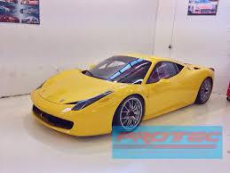 Ferrari 458 Challenge - protec glass tinting ferrari 458 challenge race car designed and